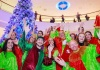 The Mall of Cyprus welcomed Christmas with its friends